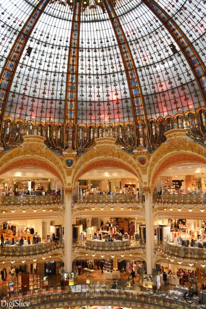 Galeries Lafayette, Paris - DigiSlice