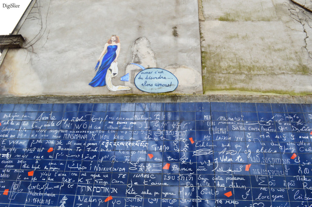 Wall of Love in Montmartre, Paris - Digislice