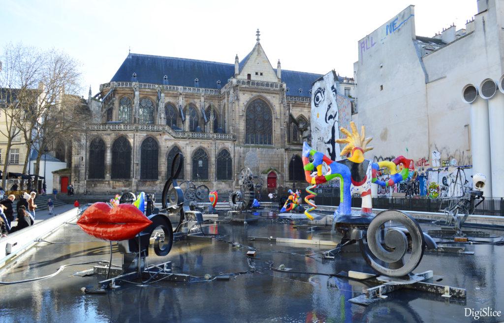 Stravinsky Fountain, Paris - DigiSlice