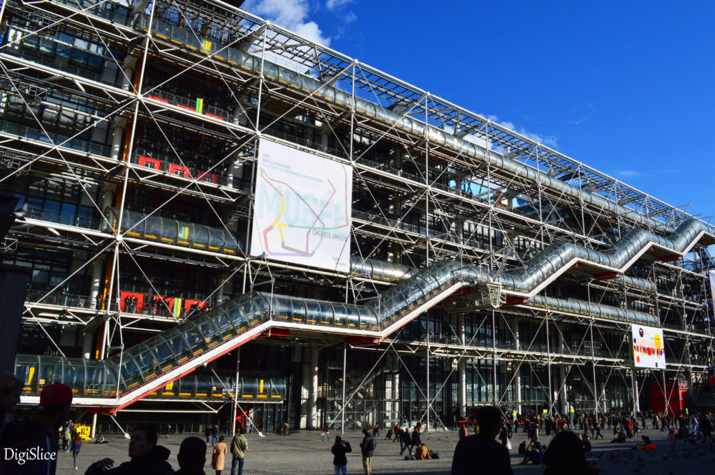 Centre Pompidou, National Museum of Modern Art in Paris - DigiSlice