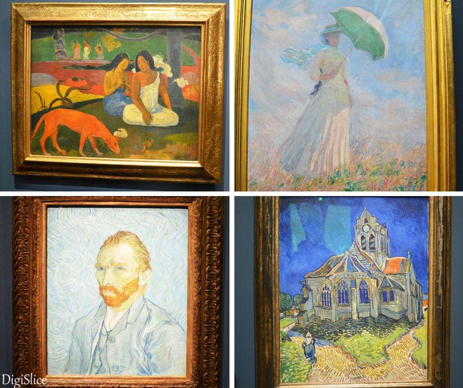 Van Gogh, Gauguin & Renoir at Musée d'Orsay, Paris - DigiSlice