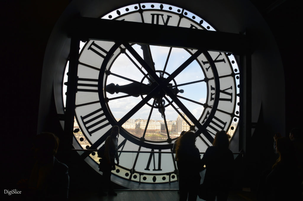Museum d'Orsay , Clock Window, Paris - DigiSlice