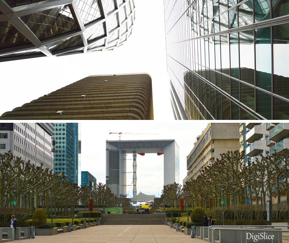 The Grande Arche de la Défense, Paris - DigiSlice