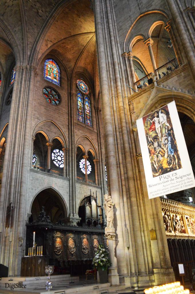 Notre-Dame interior, Paris - DigiSlice