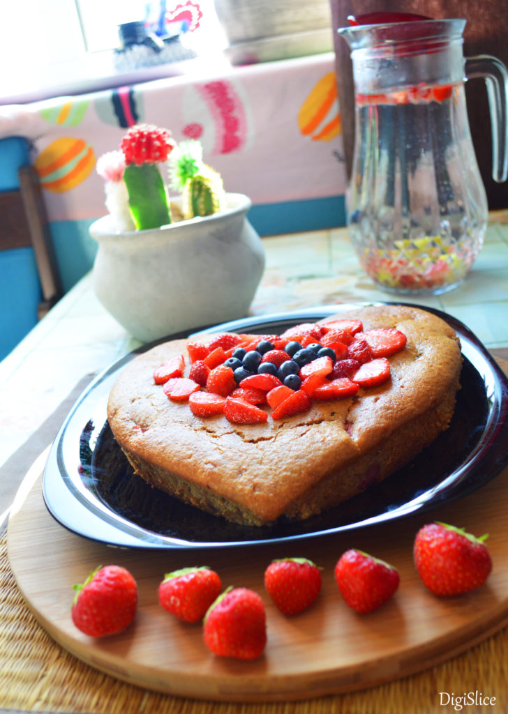 Vegan Yogurt Cake - Egg-free, Dairy-free, Healthy