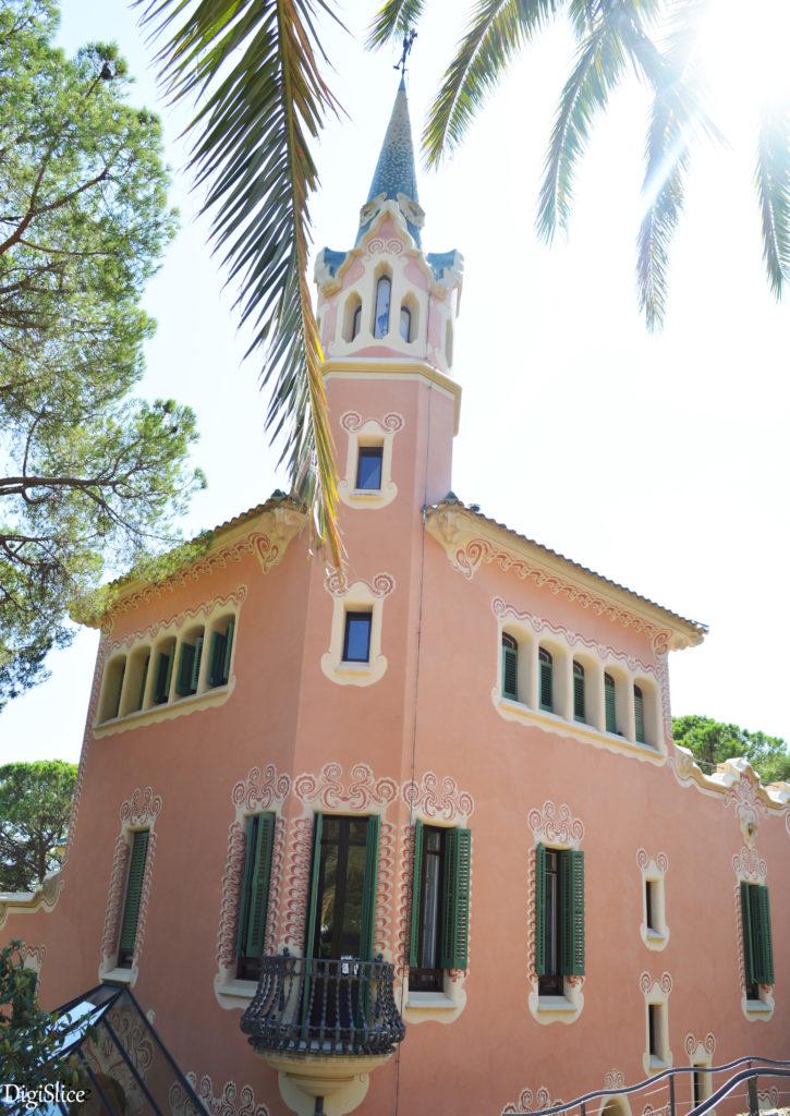 Gaudí House-Museum in Park Güell, Barcelona