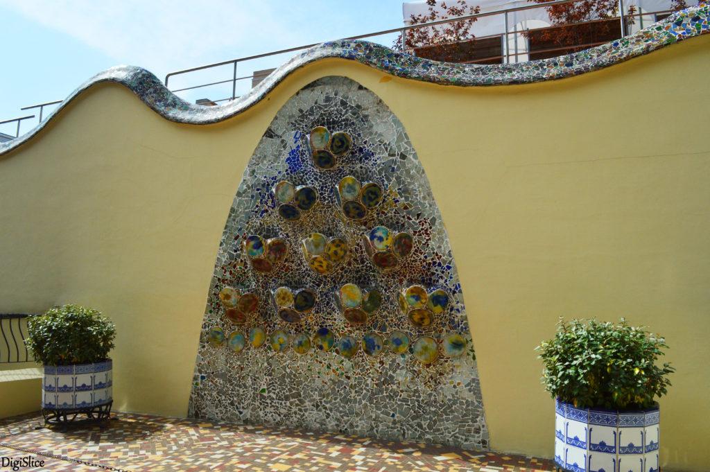 Casa Batlló garden - Barcelona