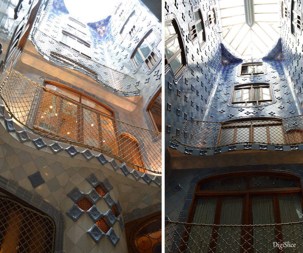 Casa Batlló central light well - Barcelona