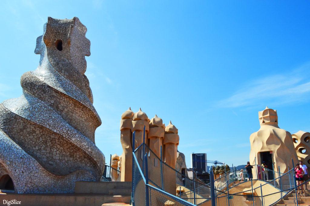 Casa Milà (La Pedrera) rooftop - Barcelona