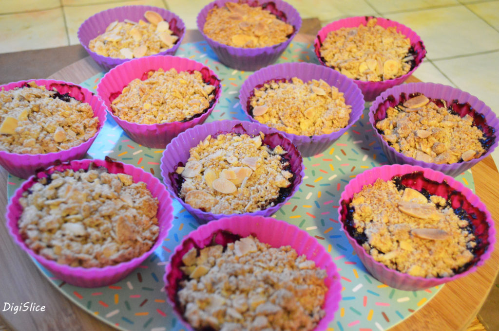 Baked mini vegan crumbles - DigiSlice