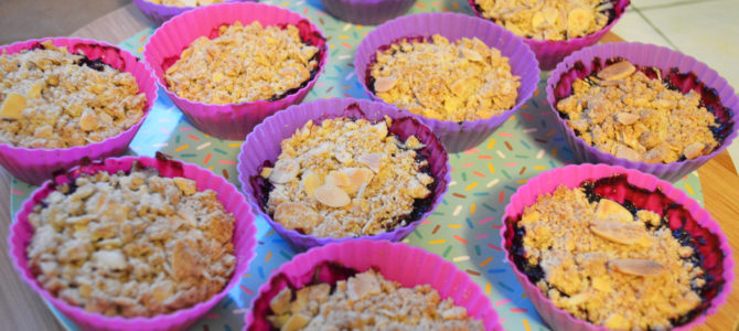 Simple Vegan Mini Crumble