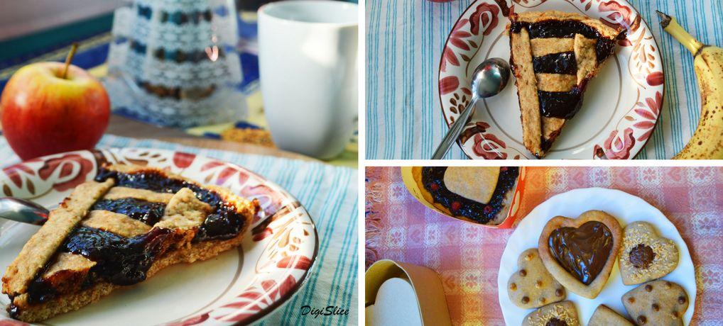 Crostata: Vegan Jam Tart