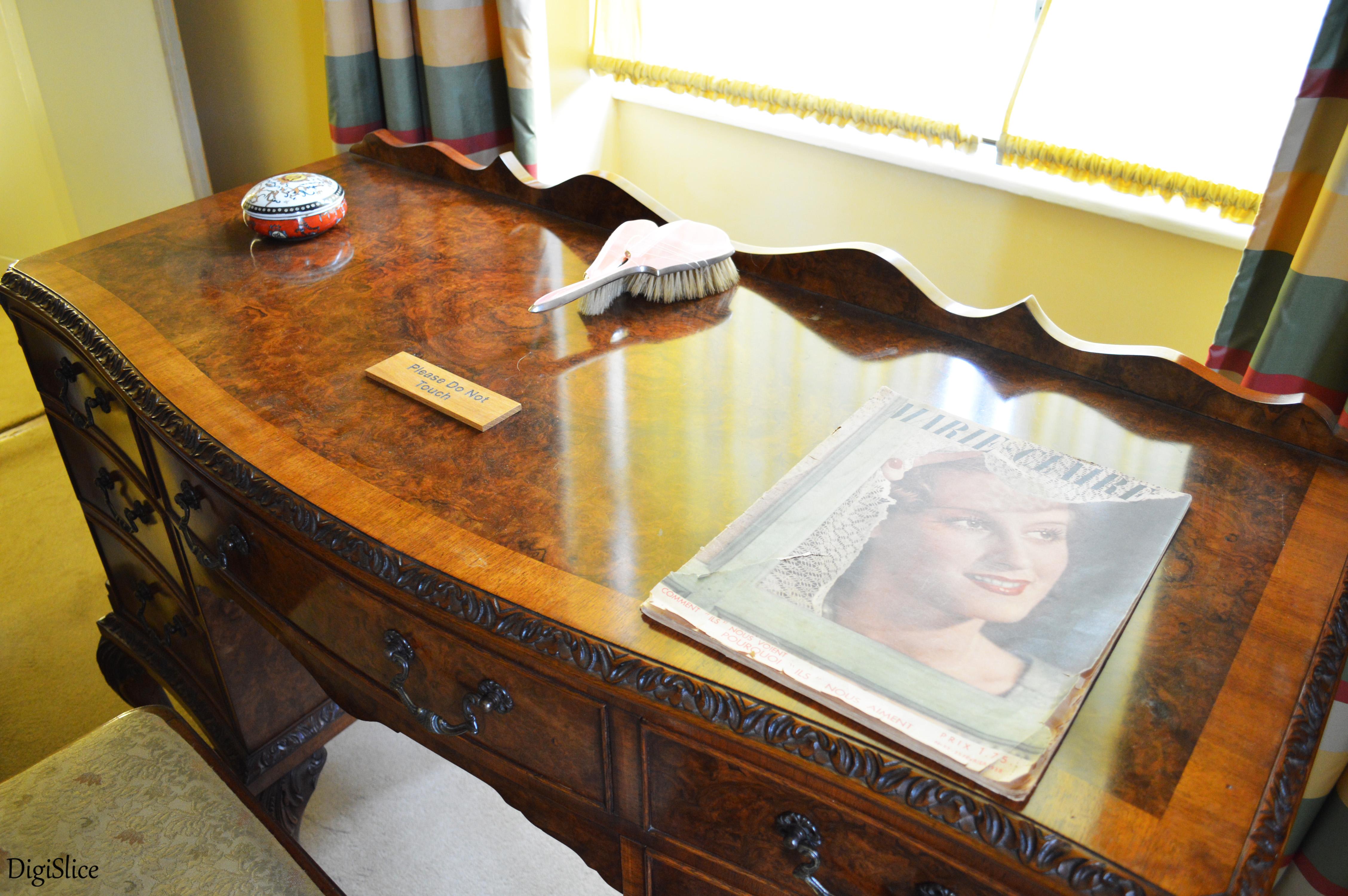 Eltham Palace desk