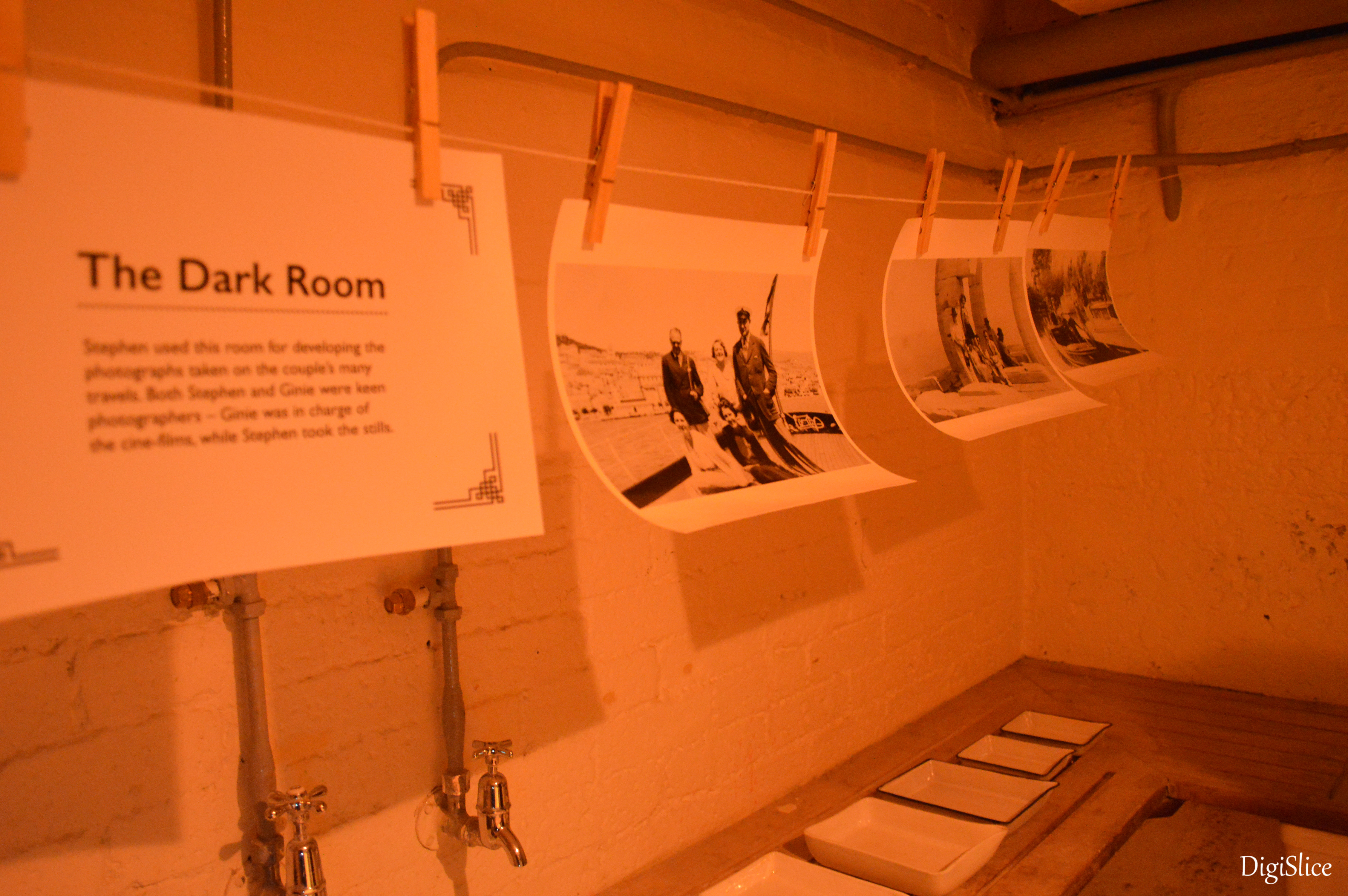 The dark room, Eltham Room