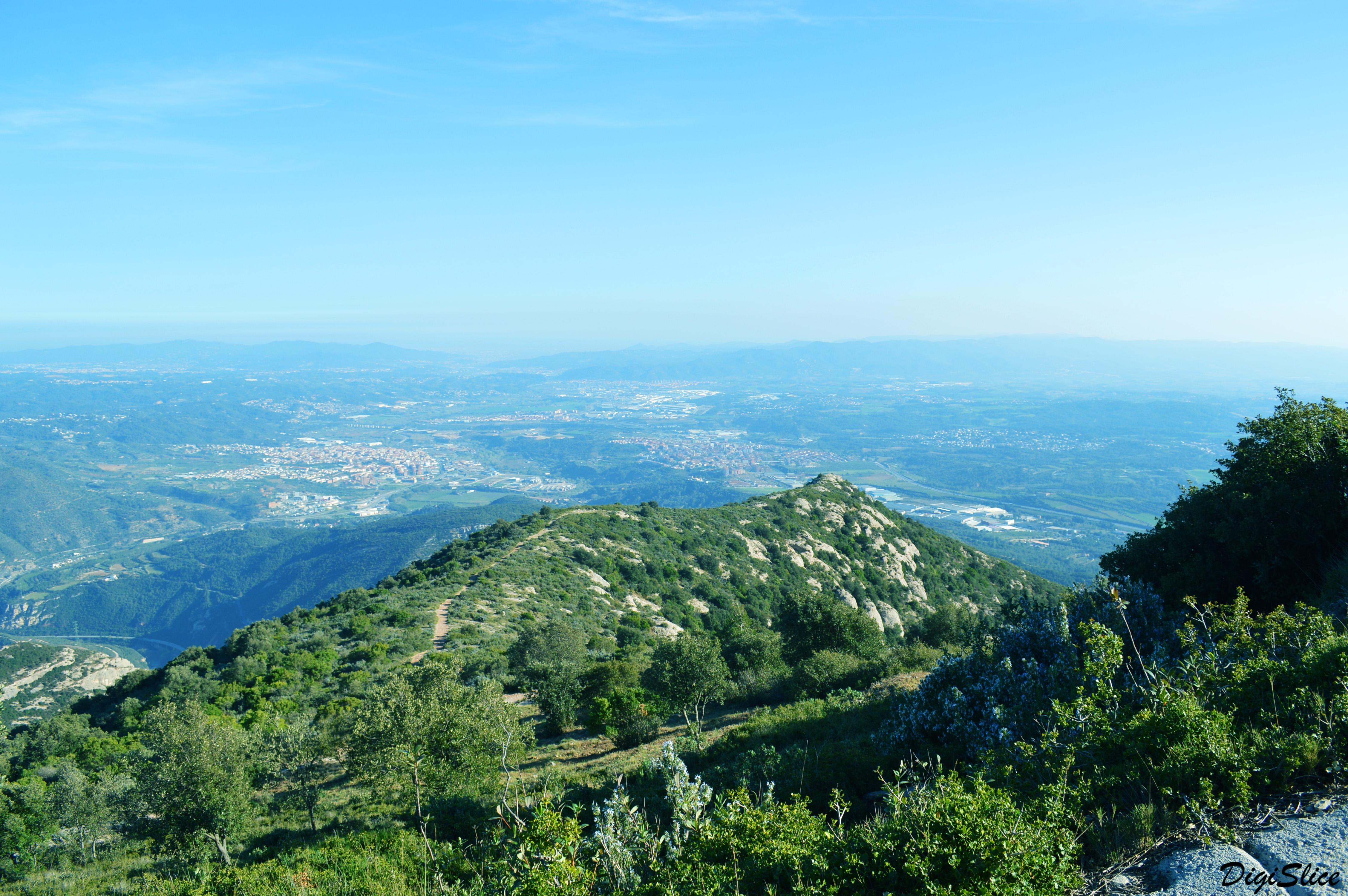 Montserrat view, Spain